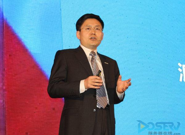 浪潮集团高级副总裁王恩东